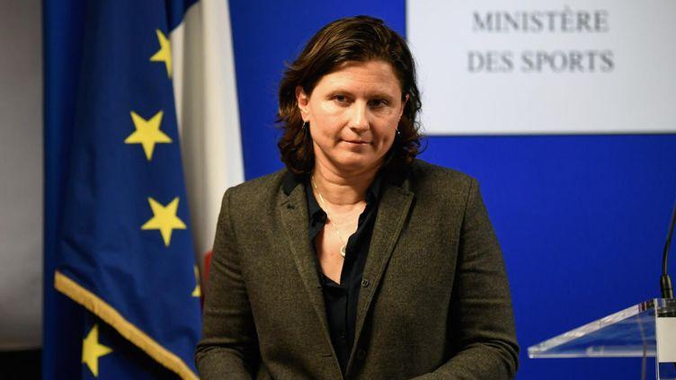 La ministre des Sports Roxana Maracineanu. (BERTRAND GUAY / AFP)