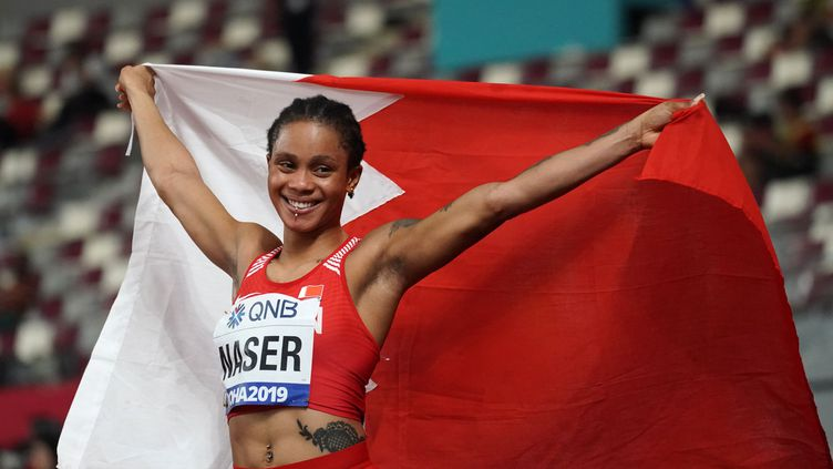 La Bahreïnie Salwa Eid Naser et championne du monde du 400 m en titre.  (XU SUHUI / XINHUA)
