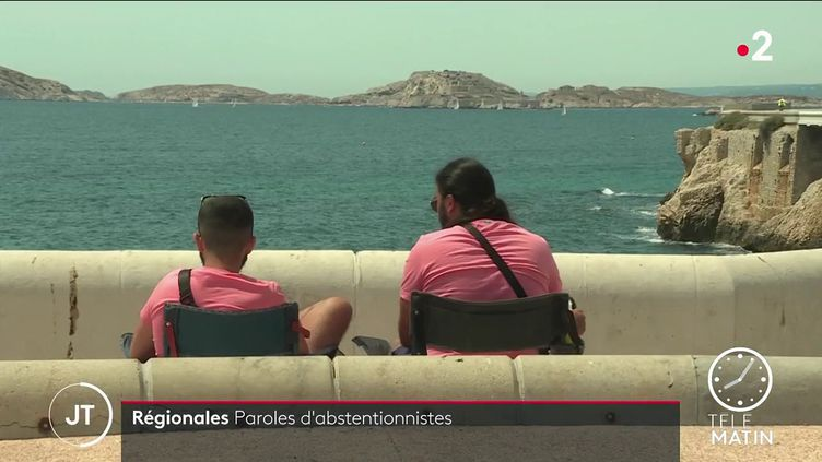 Deux hommes à Marseille. (France 2)
