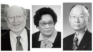 (William C. Campbell, Youyou Tu et Satoshi Ōmura © The Nobel Assembly)