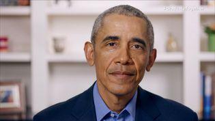 L'ancien président des Etats-Unis Barack Obama, le 16 mai 2020. (GETTY IMAGES / GETTY IMAGES NORTH AMERICA / AFP)
