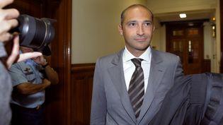 Thomas Fabius, le 1er juin 2011, au tribunal de grande instance de Paris. (BERTRAND GUAY / AFP)