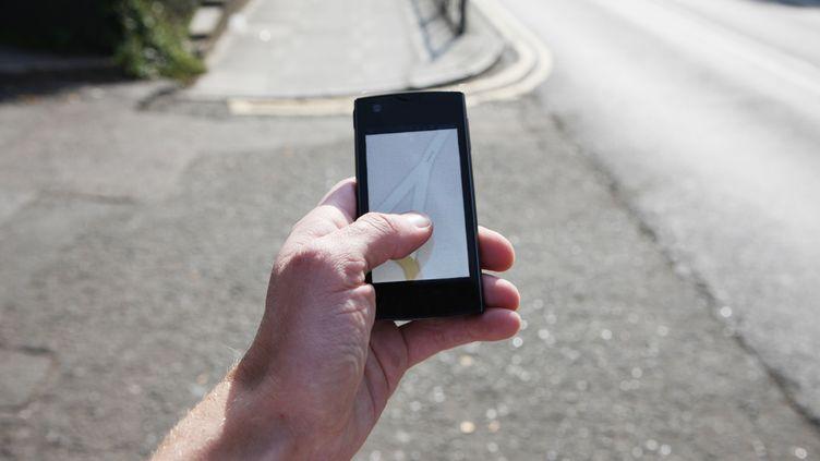 Sur les smartphones, lesapplications qui permettent d'enregistrer nos activités se multiplient. (RICHARD NEWSTEAD / GETTY IMAGES / FLICKR RM)