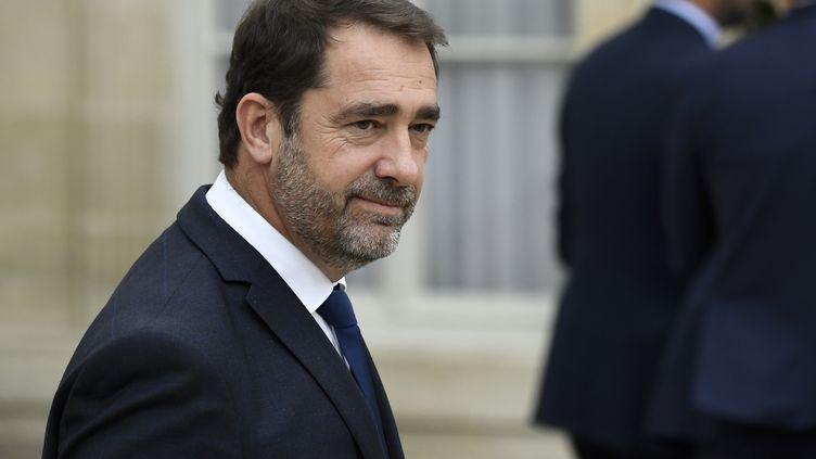 Le ministre de l'Intérieur Christophe Castaner, le 24 octobre 2018, à l'Elysée. (ERIC FEFERBERG / AFP)