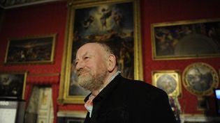 Le dessinateur danoisKurt Westergaard au M100 Media Prize 2010 à Potsdam en 2010. (ODD ANDERSEN / AFP)