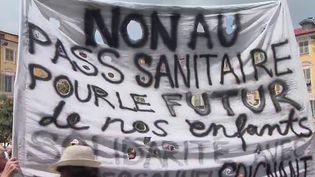 Manifestations anti-pass sanitaire : quels sont les profils des opposants ? (France 2)