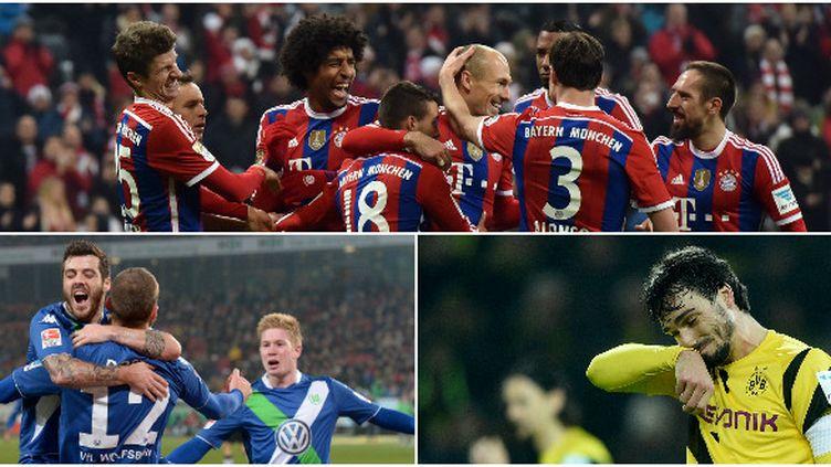 Pendant que le Bayern s'amuse, Wolfsbourg surprend et Dortmund compte les points perdus...
