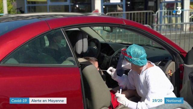 Coronavirus : la Mayenne en alerte après la recrudescence des cas