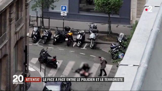 Attentat à Paris : le face-à-face entre le policier et le terroriste