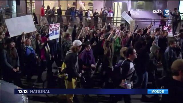 Des émeutes anti-Trump partout aux États-Unis