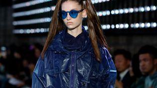 Défilé Jarel Zhang pap féminin printemps-été 2020, à la Paris Fashion Week le 1er octobre 2019 (THOMAS SAMSON / AFP)