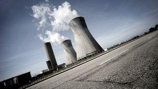 La centrale nucléaire du Tricastin à Bollène (Vaucluse). (JEFF PACHOUD / AFP)