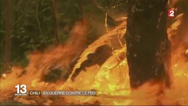 Chili : en guerre contre le feu