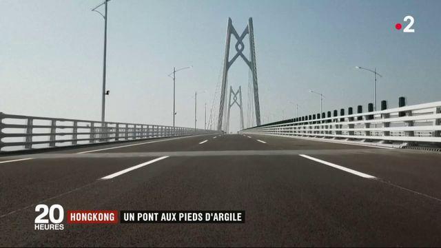 Hong Kong : un pont aux pieds d'argile