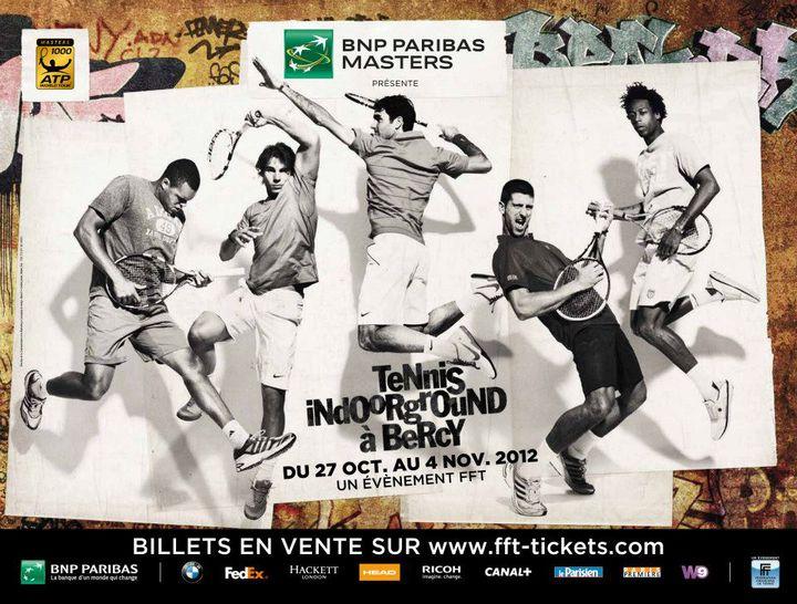 L'affiche du BNP Paribas Masters édition 2012. (DR)