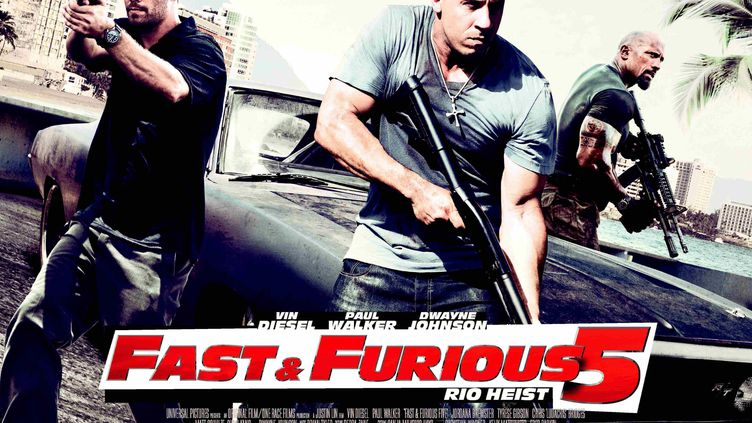 "L'affiche de ""Fast and Furious 5"". (KOBAL / THE PICTURE DESK / AFP)"