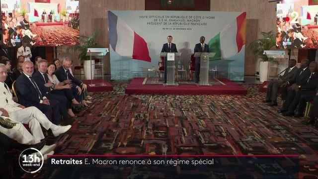 Retraites : Emmanuel Macron renonce à son régime spécial
