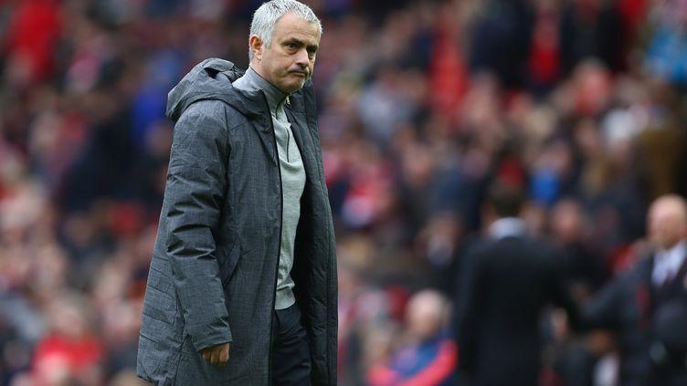 L'entraîneur portugais, José Mourinho (PHILIP OLDHAM / BACKPAGE IMAGES LTD)