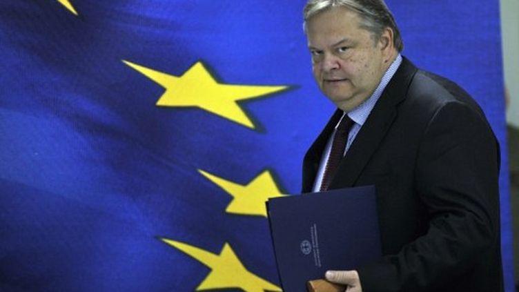Evangelos Venizelos, ministre des Finances de la Grèce.