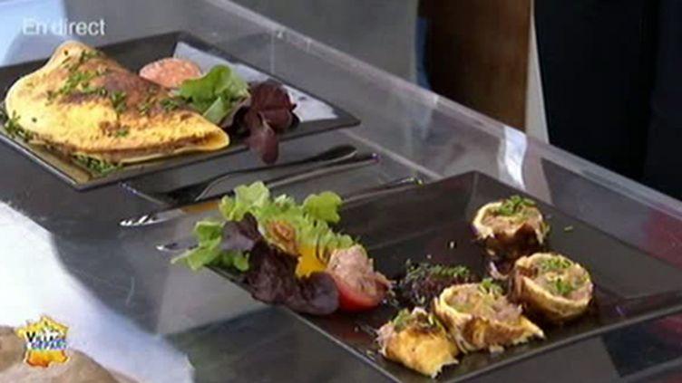 L'omelette aux rillettes