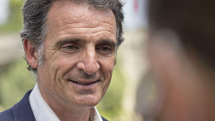 Eric Piolle, le maire EELV de Grenoble, en juillet 2020. (GUILLAUME SOUVANT / AFP)