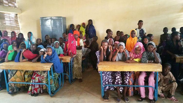 Une classe au Niger (Plan International)
