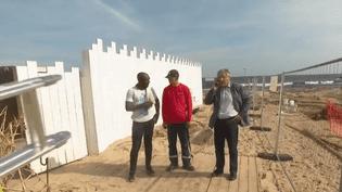 La plage de Pampelonne (Var) doit se plier aux nouvelles normes (CAPTURE D'ÉCRAN FRANCE 3)