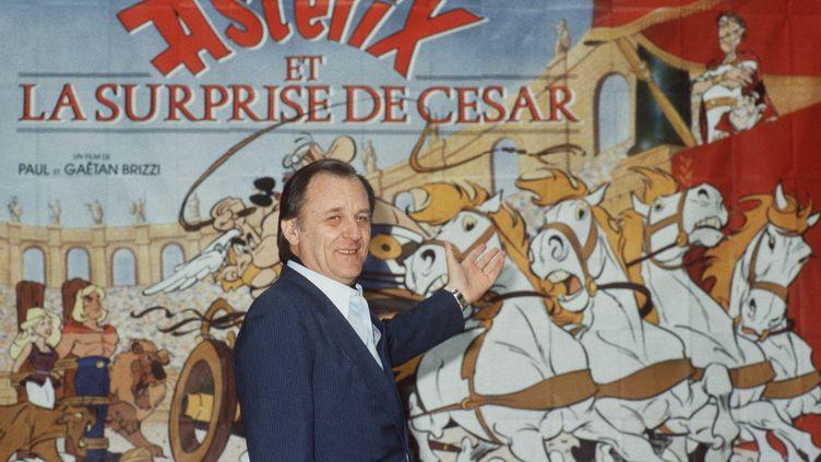 Albert Uderzo à Pais le 24 février 1986. (SVEN SIMON / MaxPP)