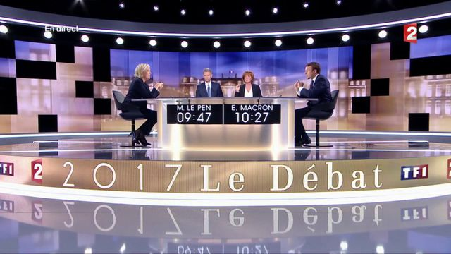 Présidentielle : la visite à Whirlpool s'invite dans le débat entre Marine Le Pen et Emmanuel Macron