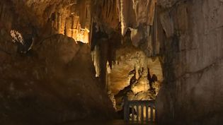 Grotte des Demoiselles dans l'Hérault (FRANCE 3)