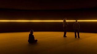 """""""Contact"""", l'artiste danois Olafur Eliasson envahit la Fondation Louis Vuitton jusqu'au 16 février 2014  (Iwan Baan / Fondation Louis Vuitton )"""