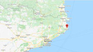 Palafrugell (Catalogne) (GOOGLE MAPS)