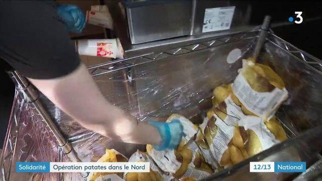 Solidarité : des kilos de pomme de terre offerts par une chaîne de fast-food