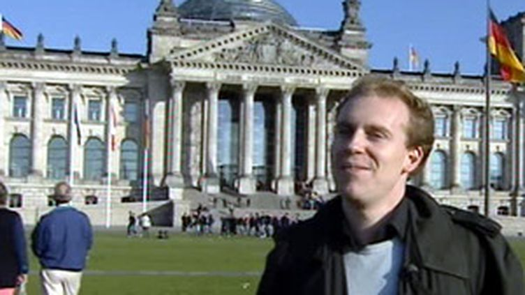 """Un étudiant """"Erasmus"""" installé à Berlin en 2007. (© France 2)"""