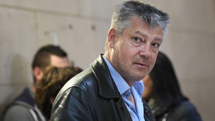 Loïc Lecouplier,représentant du syndicat Alliance Police, le 20 septembre 2017. (ERIC FEFERBERG / AFP)