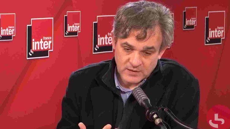 Le dessinateur Riss sur France Inter, le 1er octobre 2020. (FRANCE INTER / RADIO FRANCE)