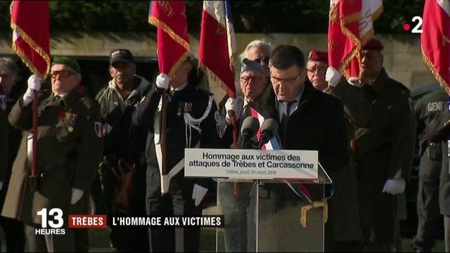 Trèbes : dernier hommage à Jean Mazières, Hervé Sosna et Christian Medves