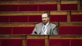Le député LREM de Moselle, Christophe Arend, le 31 janvier 2018 à l'Assemblée nationale. (VINCENT ISORE / MAXPPP)