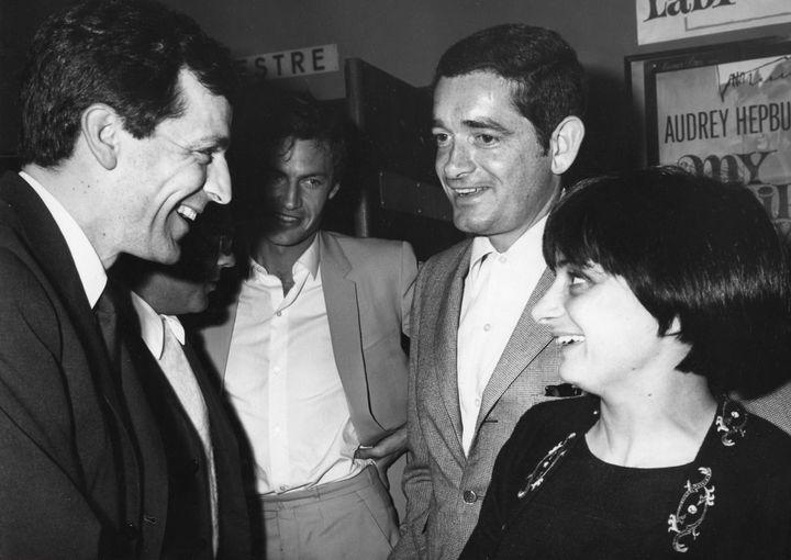 Agnès Varda et son mari Jacques Demy au festival de Cannes en 1965  (RONALDGRANT MARY EVANS SIPA)