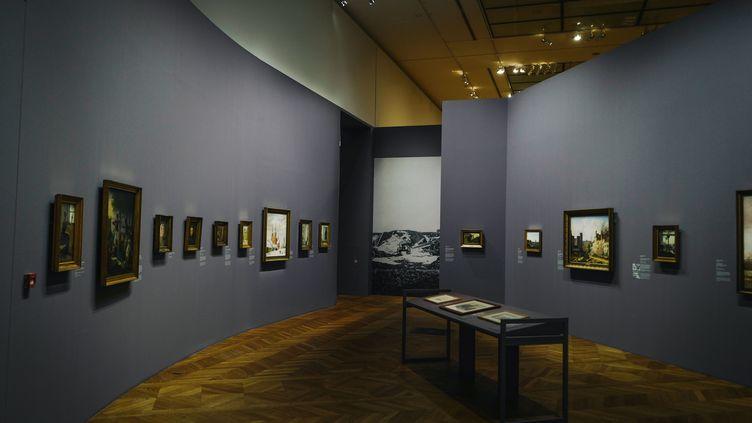 """Exposition """"L'âge d'or de la peinture danoise (1801-1864) au Petit Palais à Paris. (LUCAS BARIOULET / AFP)"""