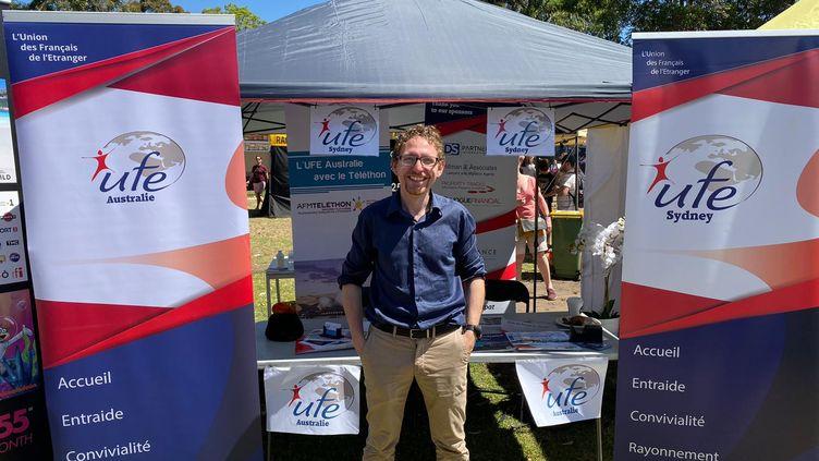 A 35 ans, Johan Lequien est aussi le président de l'UFE Australie (Union des Français de l'étranger)qui compte 270 membres à Sydney (Photo Lequien)