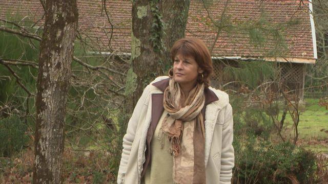 Rencontre avec Mireille Calmel, chez elle, dans le Médoc