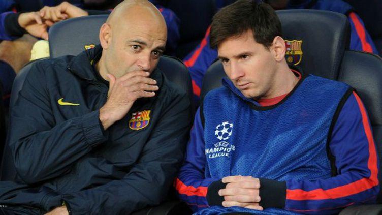 Lionel Messi a assisté à la déroute du Barça depuis le banc de touche