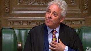John Bercow à la Chambre des communes, à Londres (Royaume-Uni), le 9 septembre 2019. (AFP)