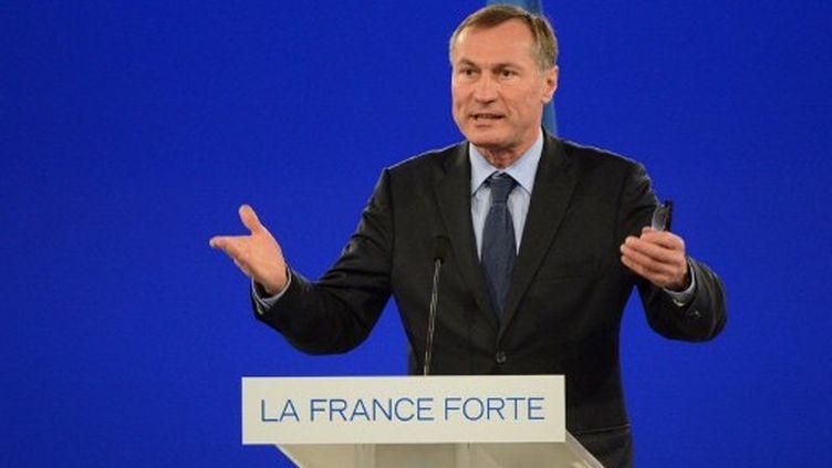 Jean-Marie Bockel lors du meeting de Nicolas Sarkozy à Villepinte en mars (AFP PHOTO / ERIC FEFERBERG)