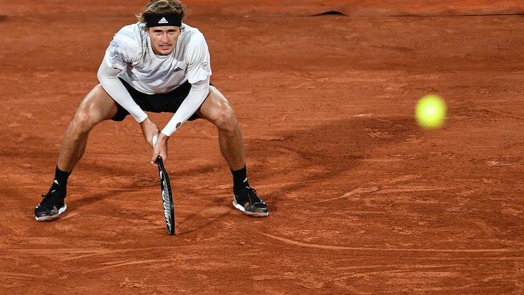 L'Allemand Alexander Zverev (ANNE-CHRISTINE POUJOULAT / AFP)