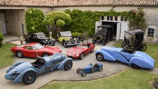 La Collection Hervé et Martine Ogliastroest proposée aux enchères à l'occasion du Salon Rétromobile. (Artcurial Motocars /Salon Rétromobile 2017)