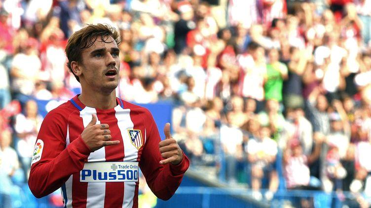 Antoine Griezmann, meilleur joueur de Liga 2015/2016 (GERARD JULIEN / AFP)