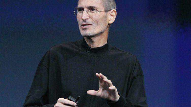 Steve Jobs, à Cupertino, le 20 octobre 2010. (Justin Sullivan/Getty Images/AFP)