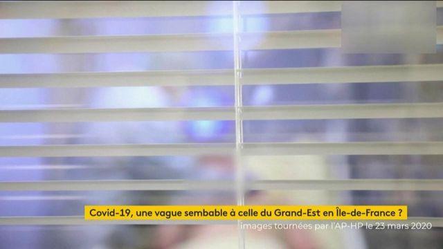 Coronavirus : l'Ile-de-France frappée de plein fouet